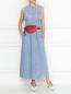 Платье-макси из денима MM6  –  МодельОбщийВид