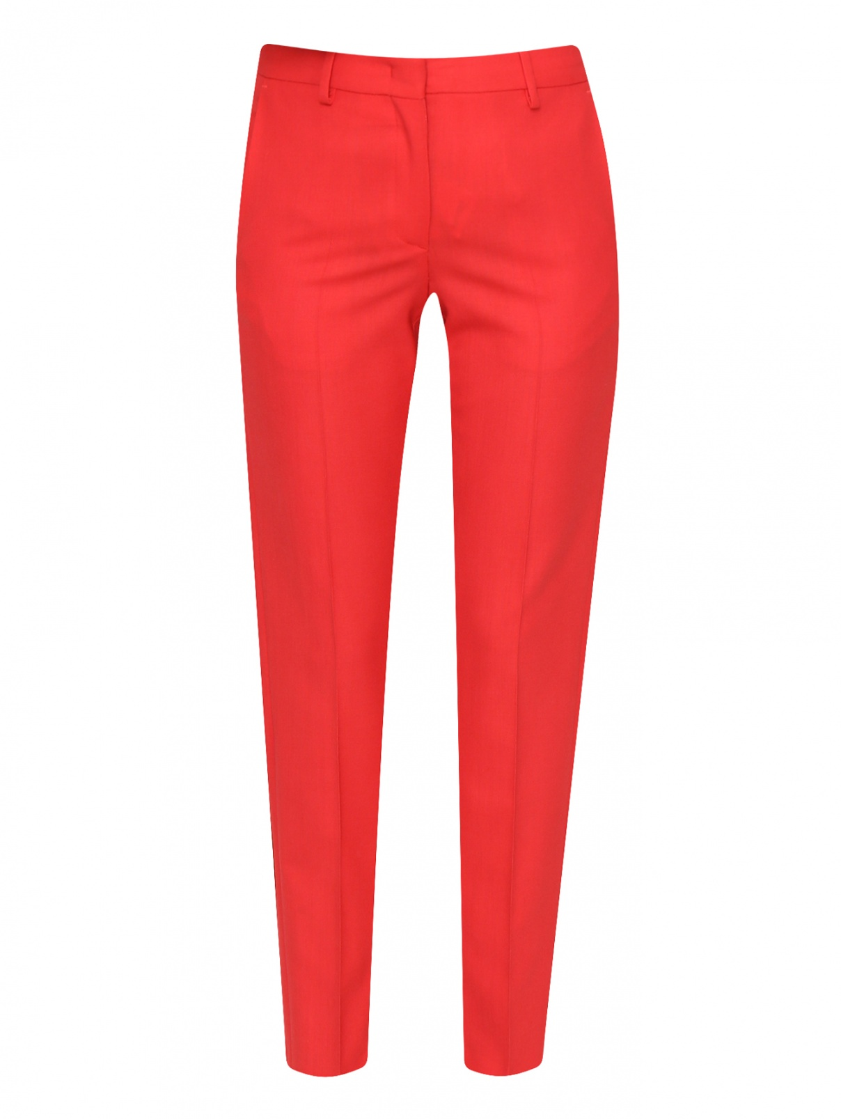 Укороченные брюки из шерсти Paul Smith  –  Общий вид