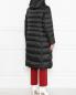 Стеганая куртка с капюшоном Marina Rinaldi  –  МодельВерхНиз1