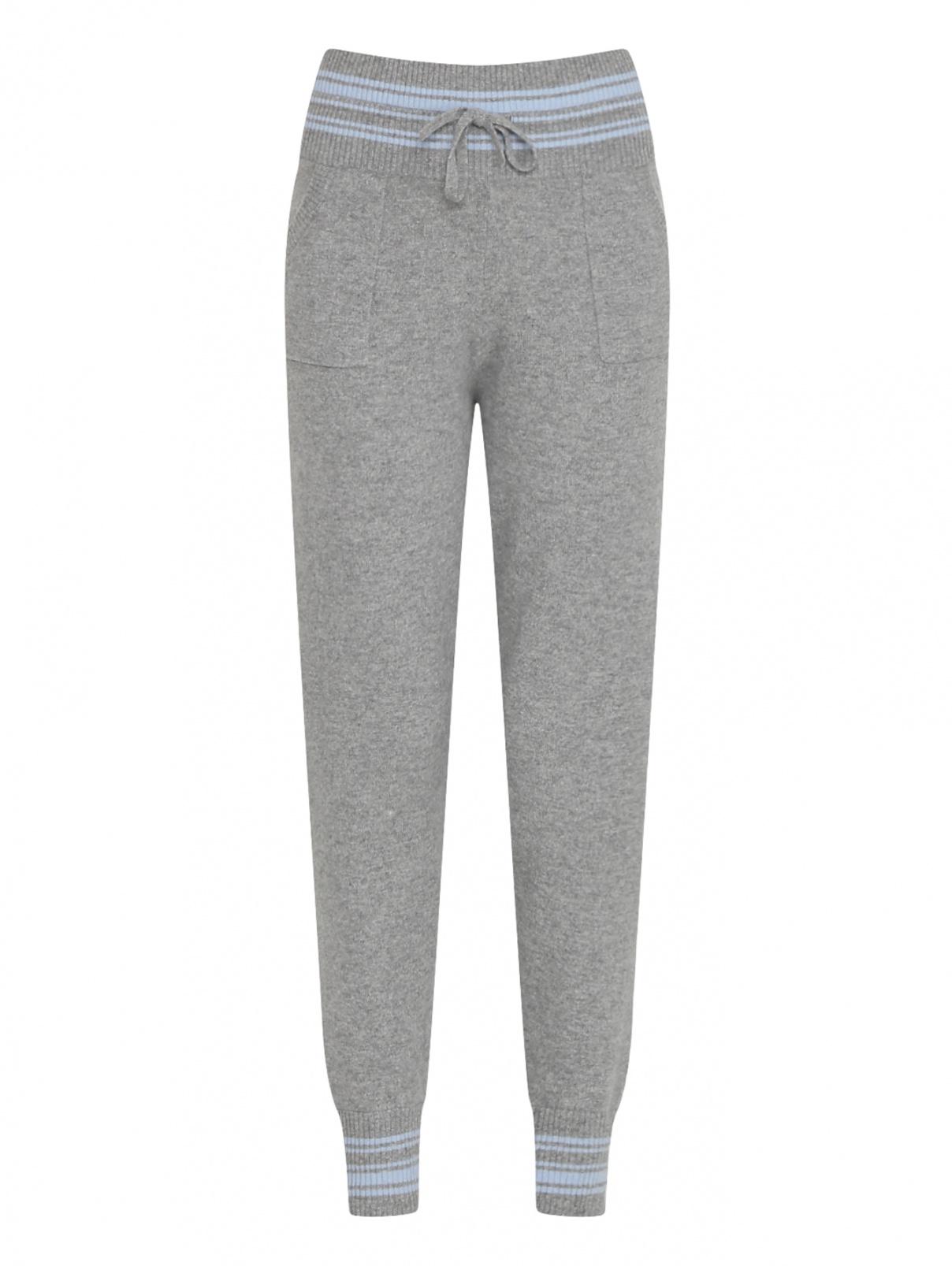 Трикотажные брюки из кашемира с карманами Ermanno Scervino  –  Общий вид