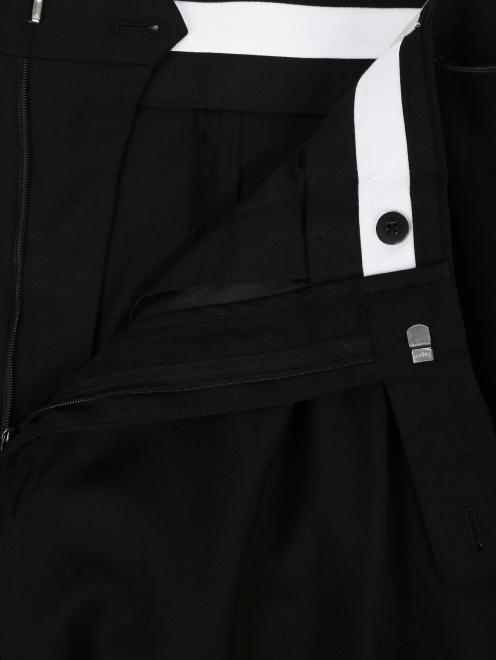 Брюки-галифе из шерсти  - Деталь1