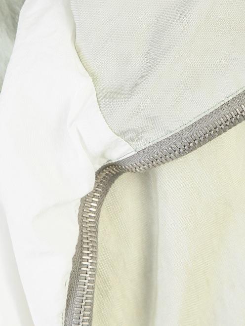 Куртка на молнии с подкладом Jil Sander - Деталь