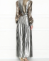 Платье-макси из смешанного шелка Alberta Ferretti  –  МодельВерхНиз1