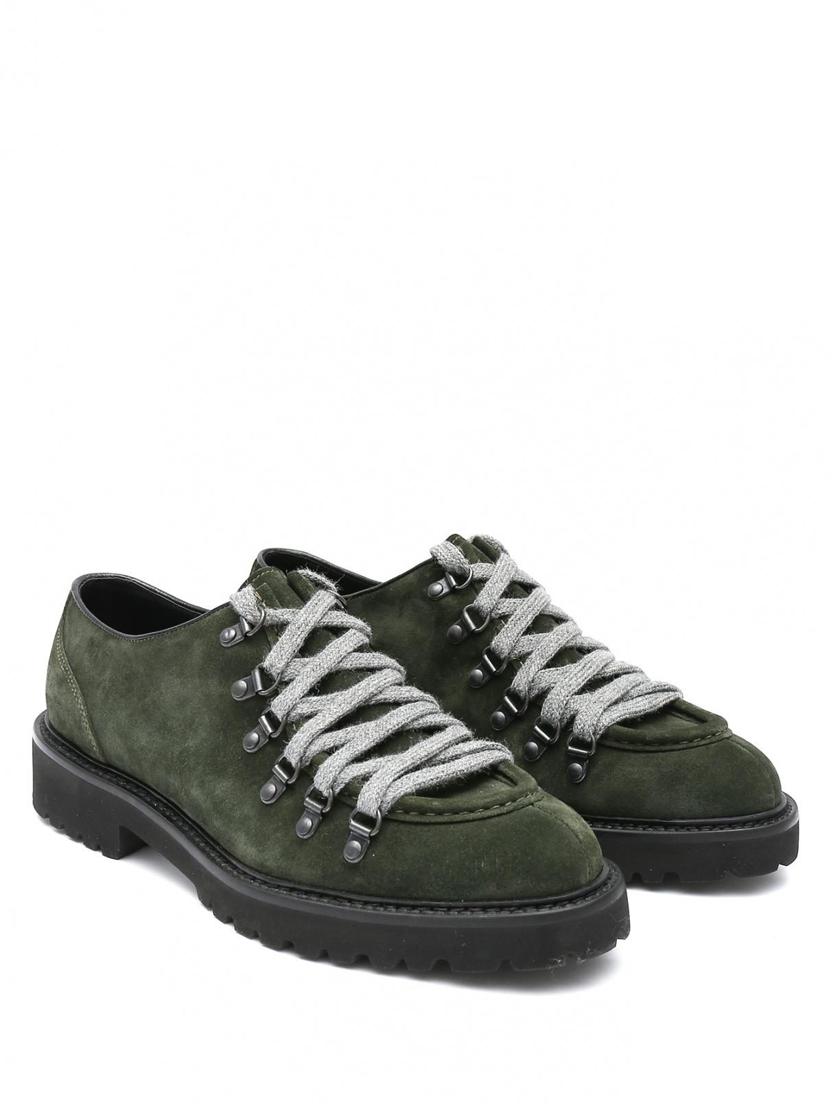 Ботинки из кожи на шнурках Doucal's  –  Общий вид