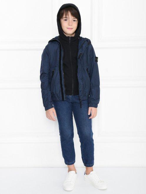 Куртка ветрозащитная с капюшоном - Общий вид