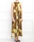 Платье-миди из хлопка и шелка Lil pour l'Autre  –  Модель Верх-Низ