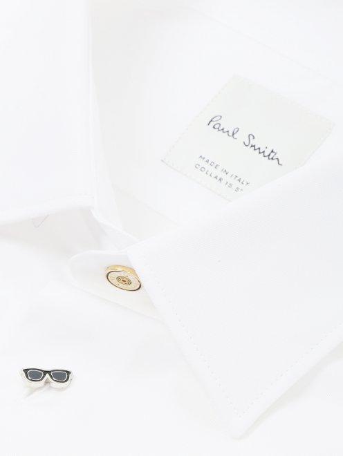 Рубашка из хлопка Paul Smith - Деталь