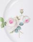 Тарелка десертная из фарфора с цветочным узором Meissen  –  Деталь