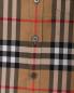 Рубашка из хлопка в клетку Burberry  –  Деталь1
