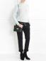 Джемпер из кашемира ажурной вязки с высоким воротом Marc Jacobs  –  МодельОбщийВид