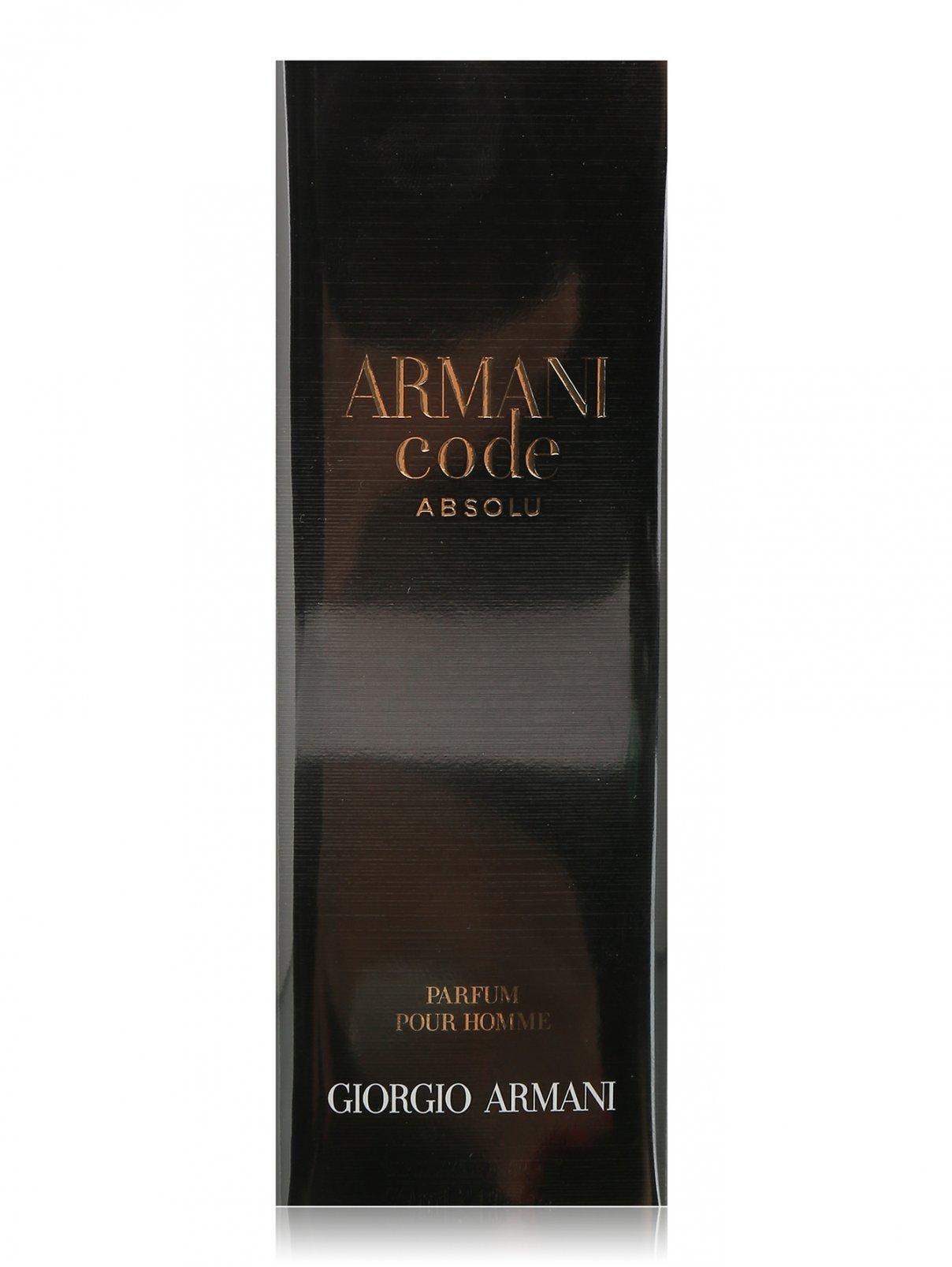 Парфюмерная вода 60 мл Armani Code Absolu Giorgio Armani  –  Общий вид