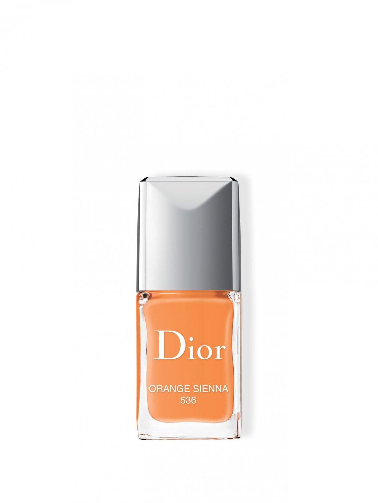 Rouge Dior Vernis Лак для ногтей 536 - Оранжевая охра Dior  –  Общий вид