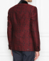 Пиджак однобортный из шерсти с узором Etro  –  МодельВерхНиз1