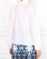 Блуза из хлопка и шелка с вышивкой Sage and Ivy  –  Модель Верх-Низ1