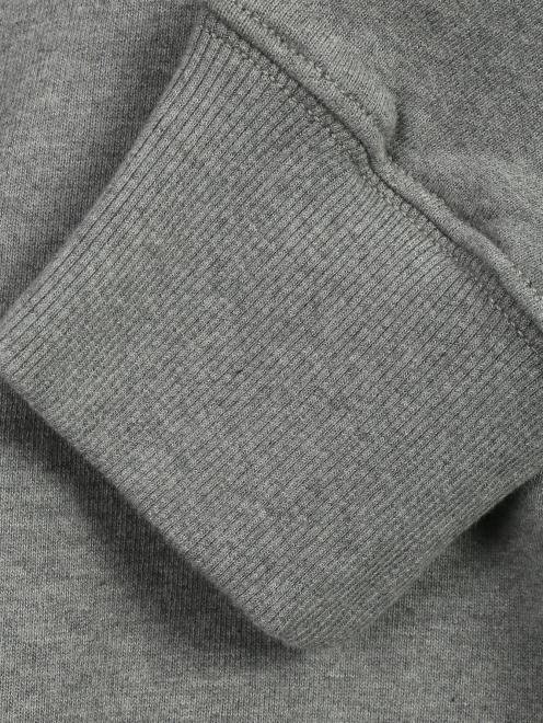 Толстовка из хлопка с капюшоном MM6 - Деталь1