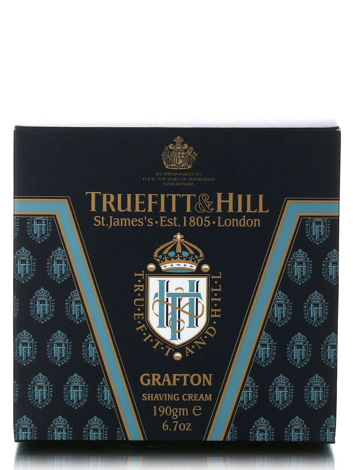 Крем для бритья в чаше - Grafton shaving cream Truefitt & Hill  –  Модель Общий вид