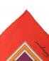 Платок шелковый с принтом Salvatore Ferragamo  –  Деталь1