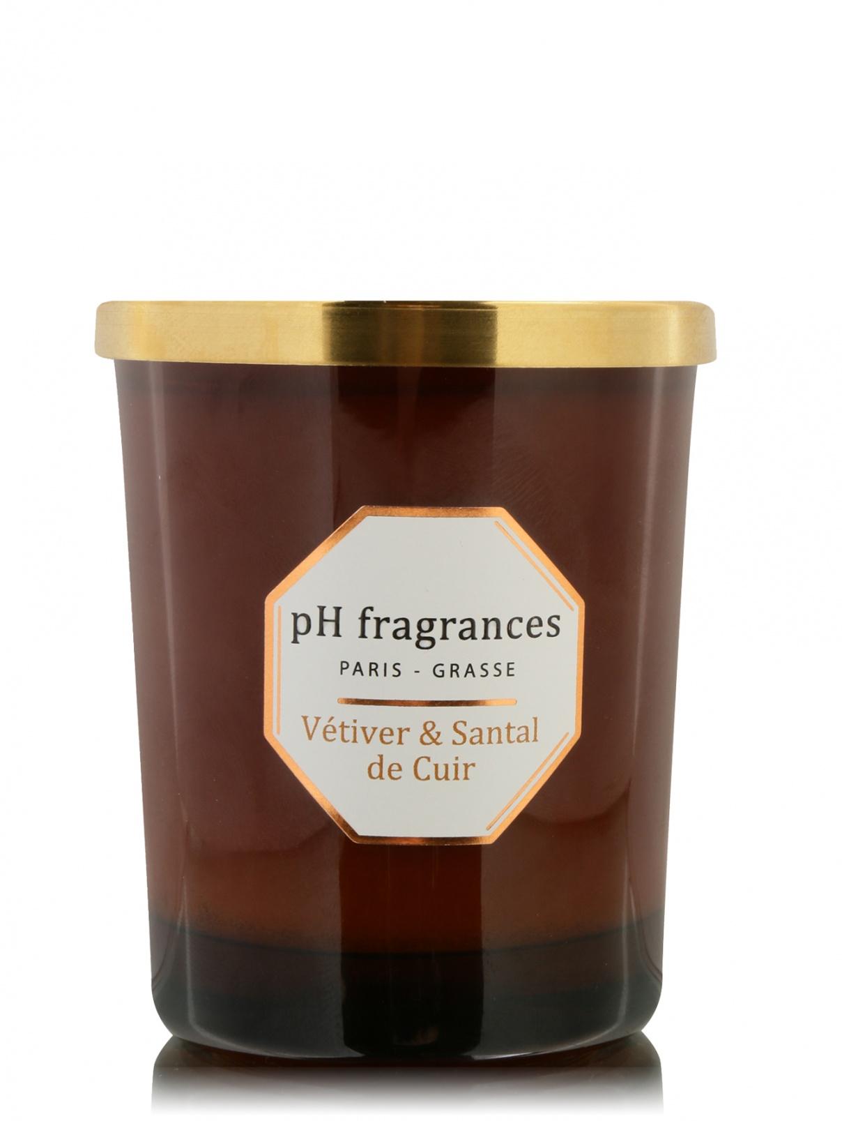 Свеча Vetiver & Santal De Cuir PH FRAGRANCES PH Fragrances  –  Общий вид