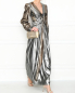 Платье-макси из смешанного шелка Alberta Ferretti  –  МодельОбщийВид