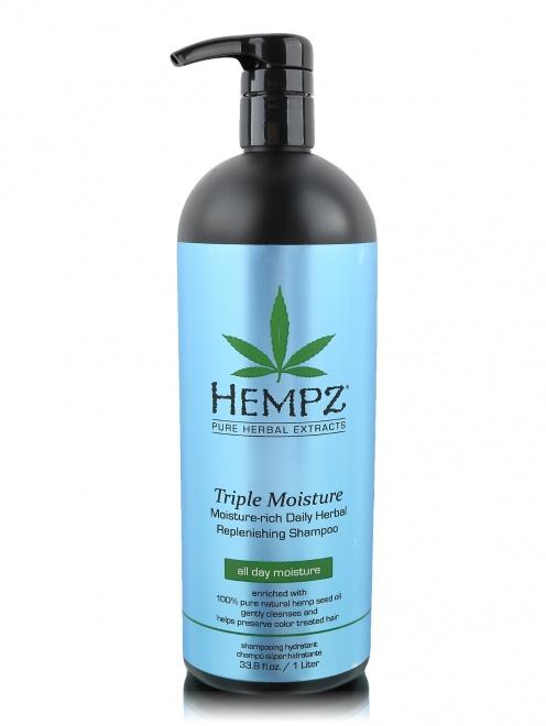 Шампунь 1000 мл Тройное увлажнение Hair Care Hempz - Общий вид