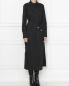 Платье-миди из хлопка с поясом Max Mara  –  МодельВерхНиз