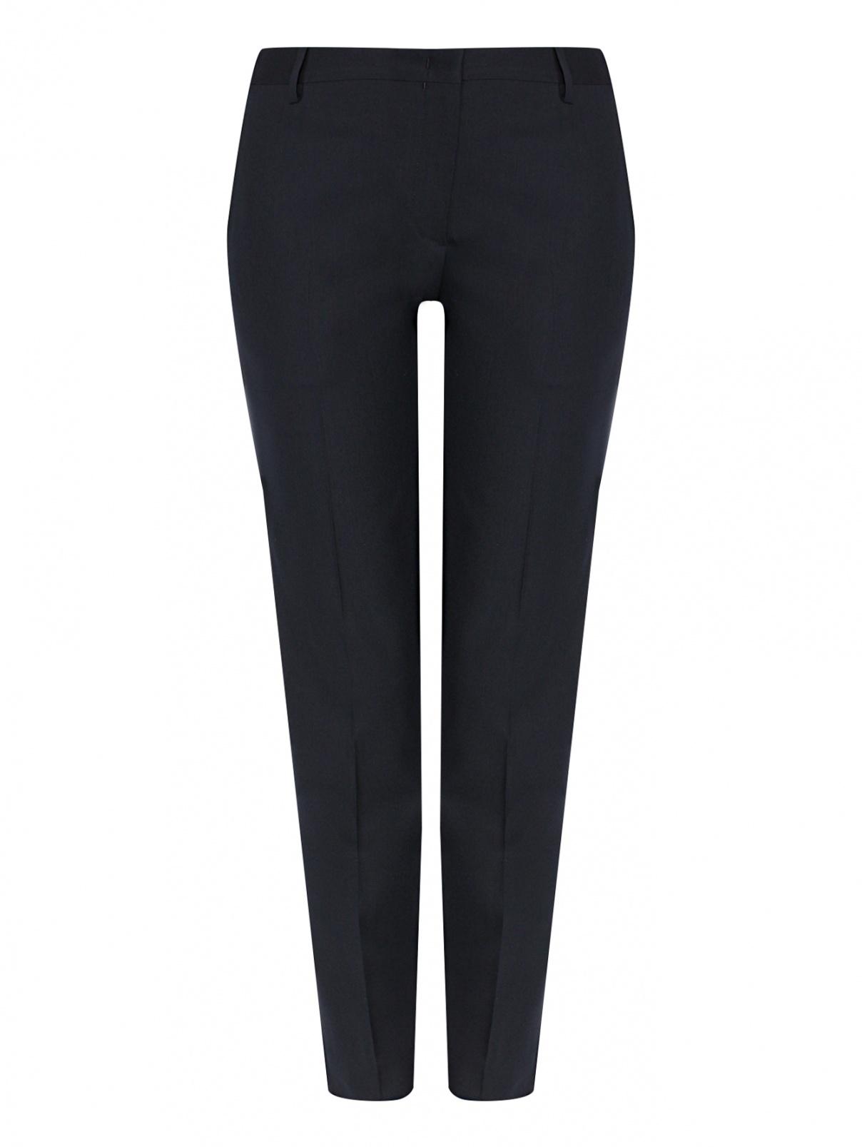 Укороченные брюки из шерсти с карманами Paul Smith  –  Общий вид