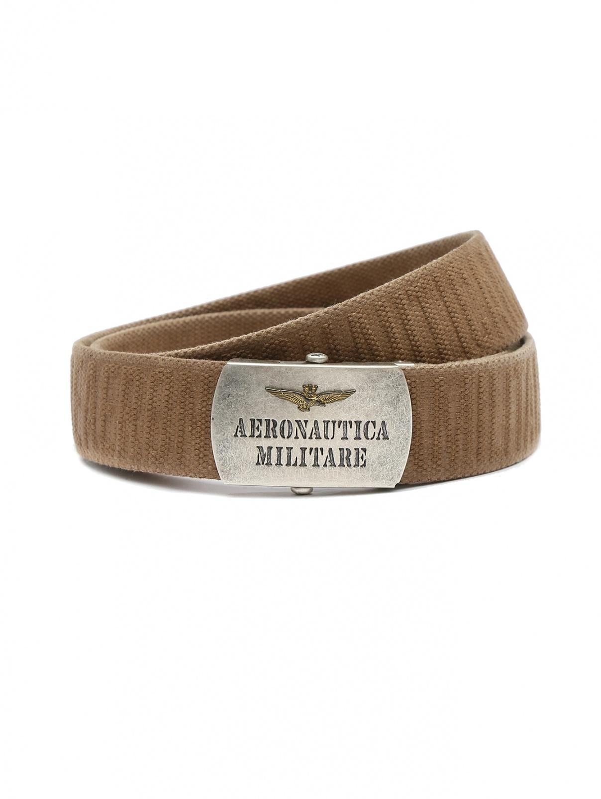 Ремень из текстиля с металлической пряжкой Aeronautica Militare  –  Общий вид