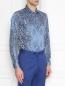 Рубашка из хлопка с принтом пейсли Etro  –  МодельВерхНиз