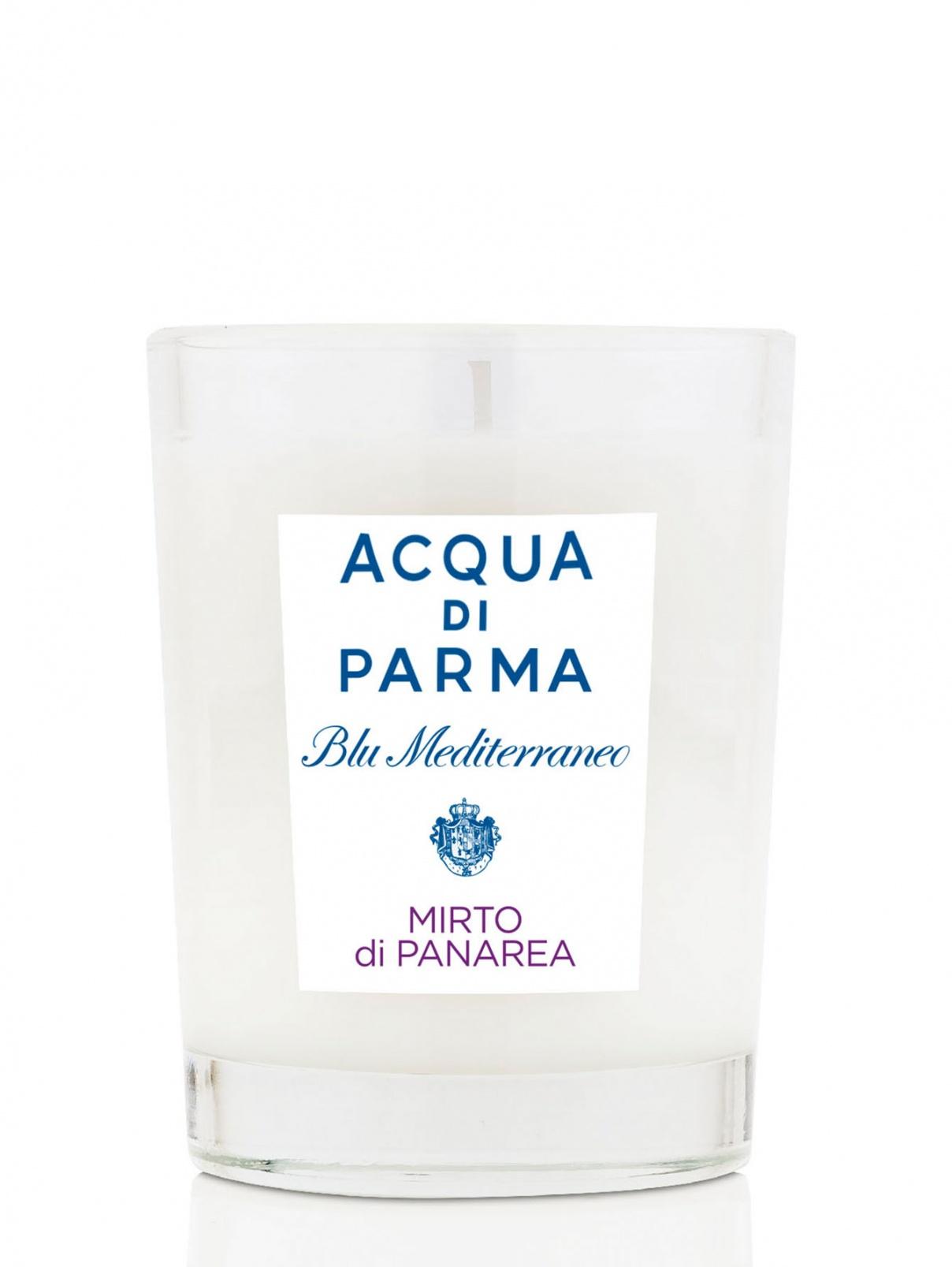 Свеча 200 г MIRTO DI PANAREA Blu Mediterraneo Acqua di Parma  –  Общий вид