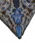 Подушка в клетку с вышивкой 45 x 45 Etro  –  Деталь