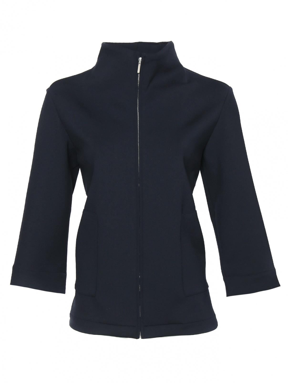 Жакет на молнии с карманами Marina Rinaldi  –  Общий вид