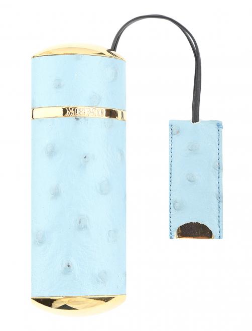 Дорожный футляр 10 мл BLUE OSTRICH Memo Paris - Общий вид