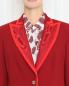 Жакет однобортный  с контрастной окантовкой Marina Rinaldi  –  МодельОбщийВид1