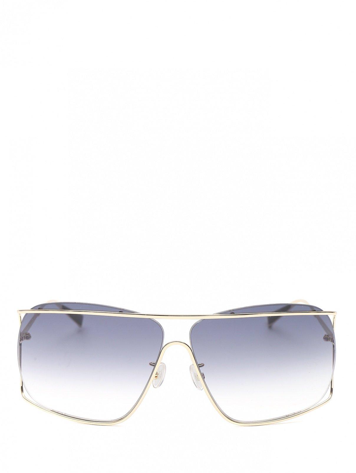 Очки солнцезащитные в металлической оправе Max Mara  –  Общий вид