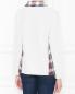 Джемпер из шерсти с контрастными вставками Moschino Boutique  –  МодельВерхНиз1