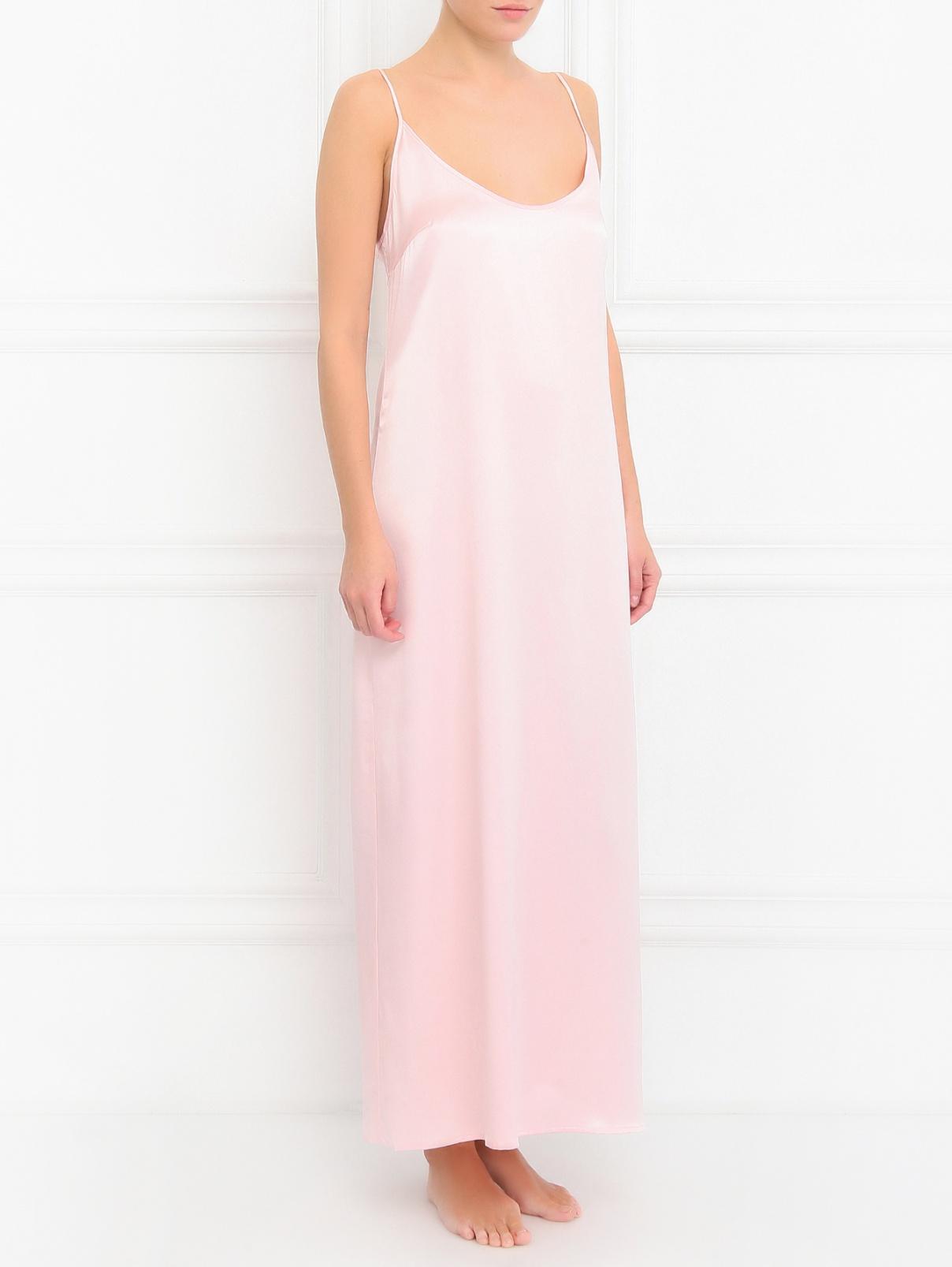 Сорочка из шелка La Perla  –  Модель Общий вид