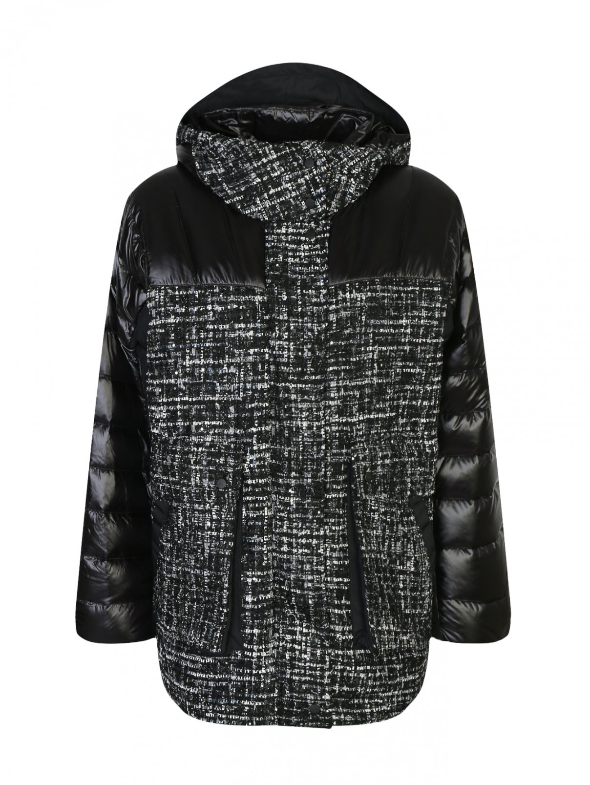 Стеганая пуховая куртка с узором Add  –  Общий вид