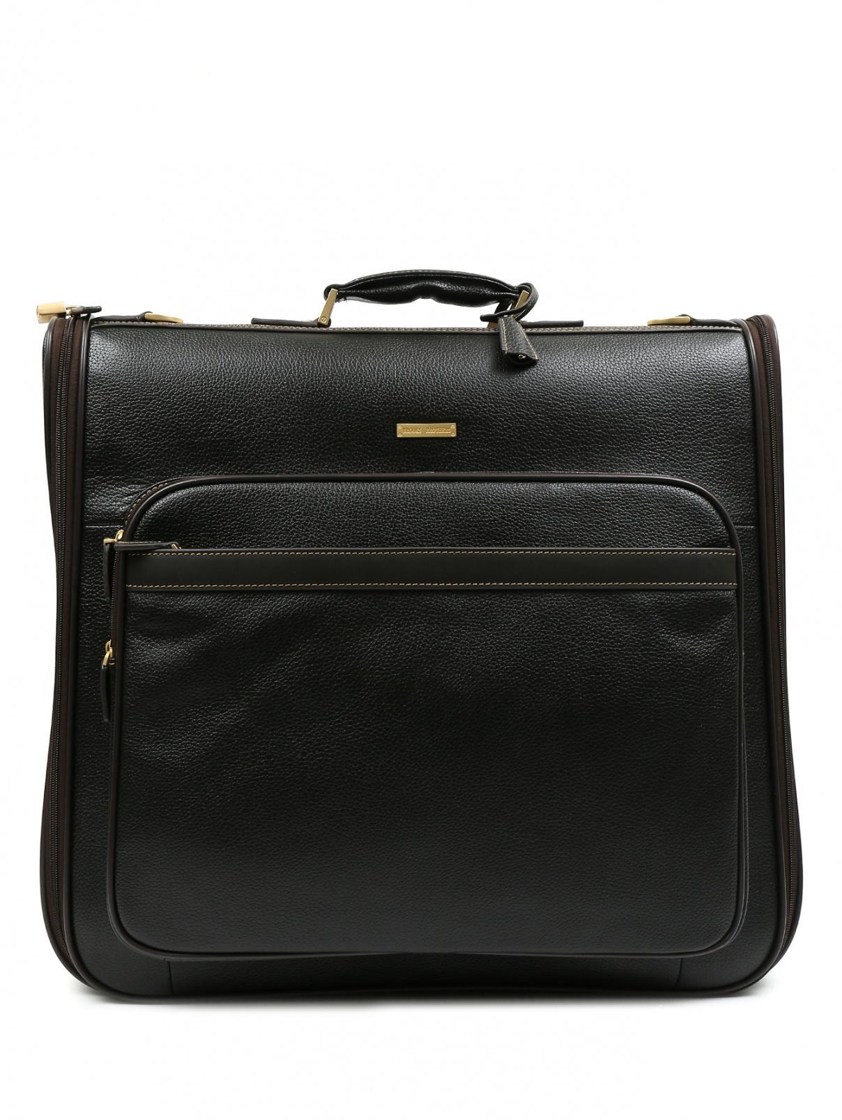 Дорожная сумка из кожи Brooks Brothers  –  Общий вид