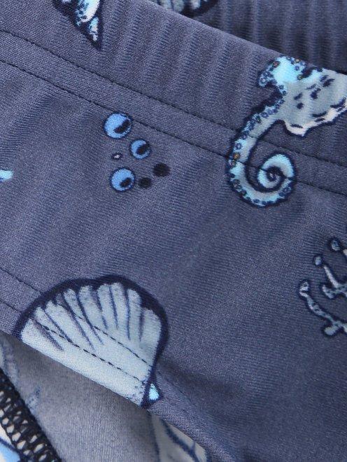 Плавки купальные с узором La Perla - Деталь