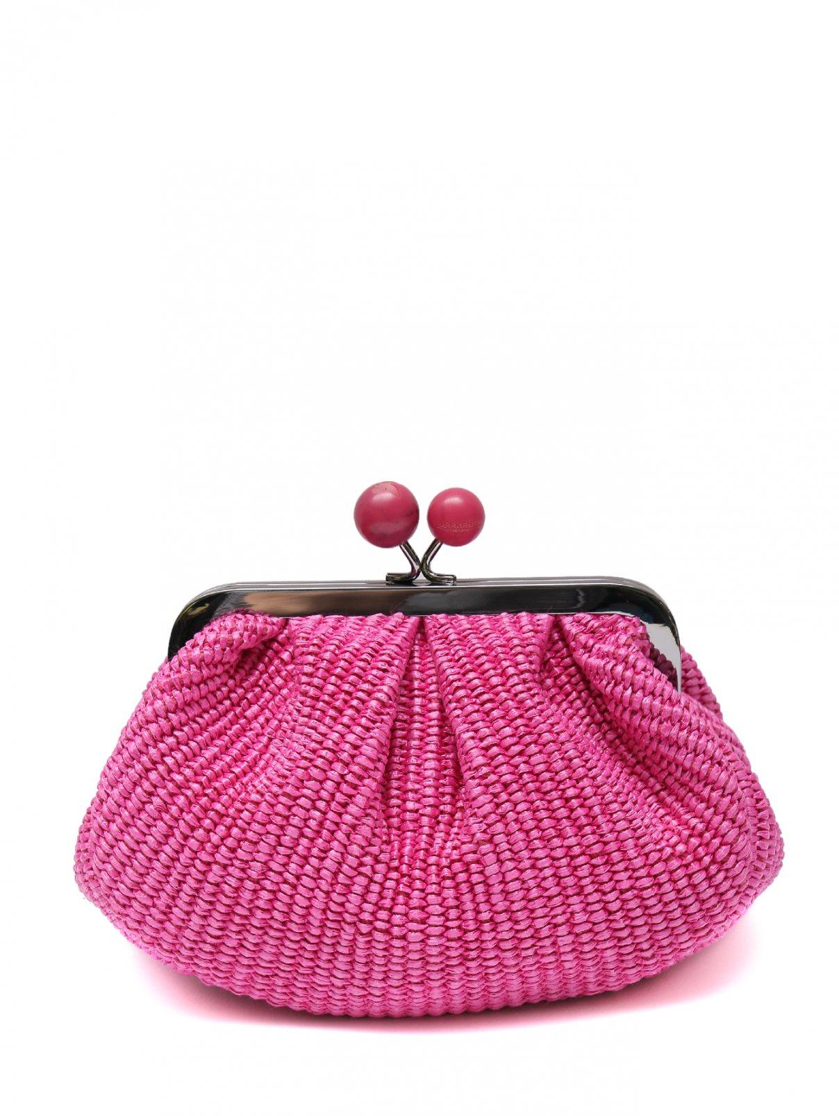 сумка плетеная на цепочке Weekend Max Mara  –  Общий вид