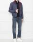 Бомбер из хлопка с накладными карманами Brooks Brothers  –  МодельОбщийВид