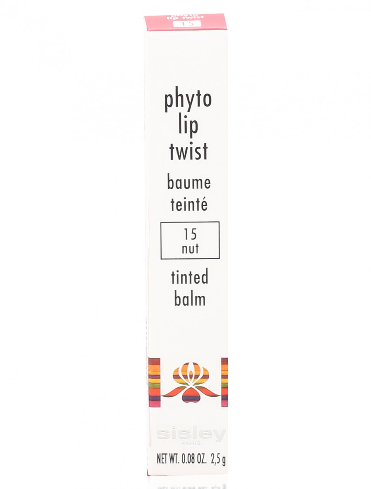 Блеск-карандаш для губ - №15 Nut Phyto-Lip Twist Sisley  –  Модель Общий вид
