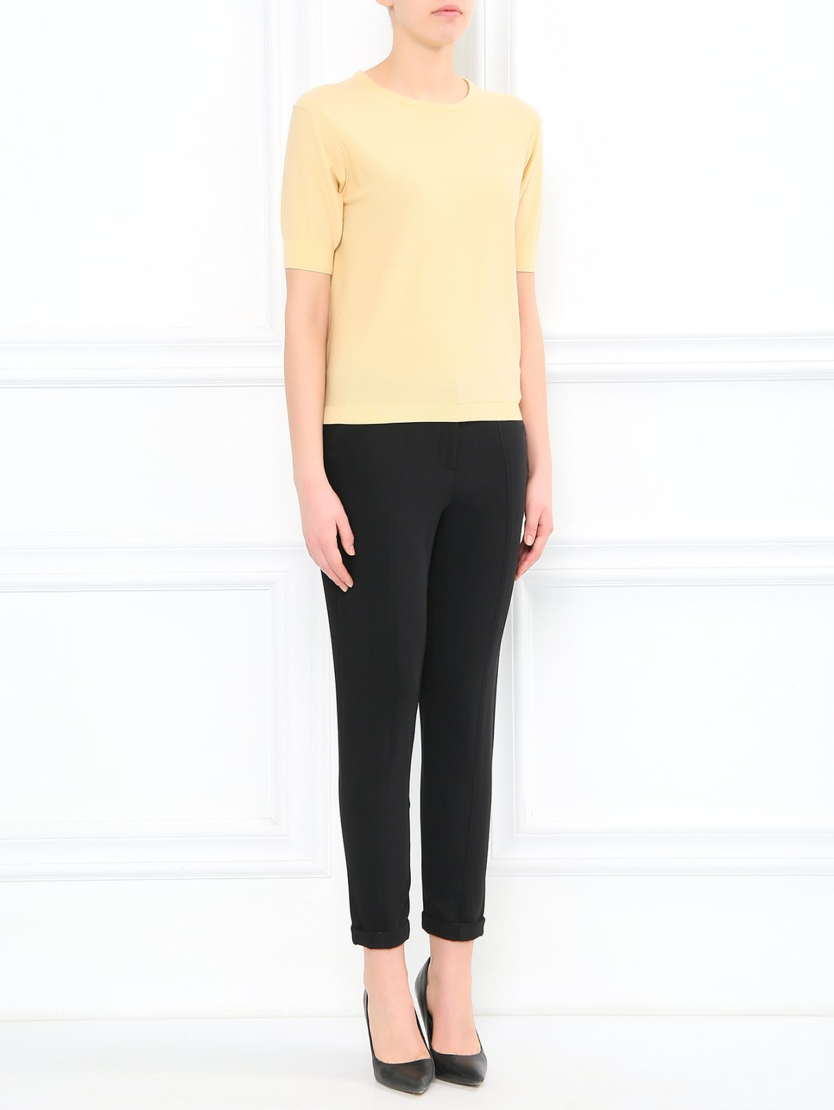 Узкие брюки со стрелками Elizabeth & James  –  Модель Общий вид