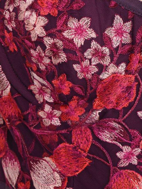 Платье с цветочным узором - Деталь
