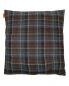 Подушка в клетку с вышивкой 45 x 45 Etro  –  Обтравка2