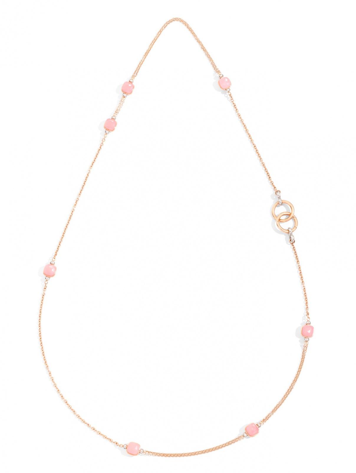 Колье C.B905PO6QRCR/90 Nudo Rosa Pomellato  –  Общий вид