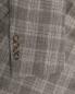 Пиджак из льна и шерсти в клетку Brooks Brothers  –  Деталь