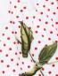 Платье хлопковое с цветочным узором MONNALISA  –  Деталь1