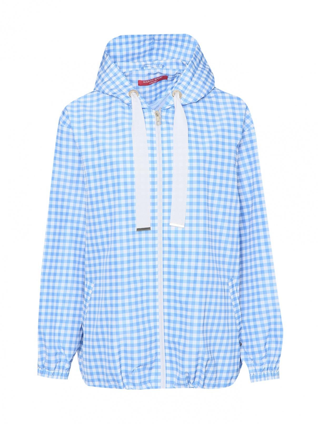 Куртка на молнии в клетку Marina Rinaldi  –  Общий вид
