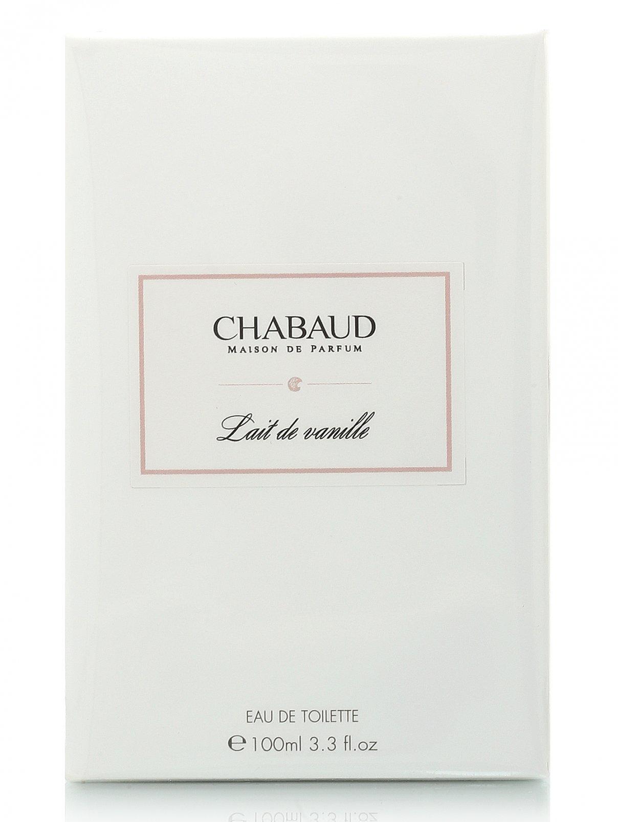 Туалетная вода - Lait De Vanille, 100ml Chabaud Maison  –  Модель Общий вид